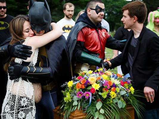 iowa couple mourns stillborn baby in the company of superheroes