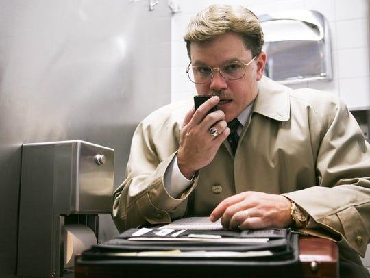 """Matt Damon in 2009's """"The Informant!"""""""