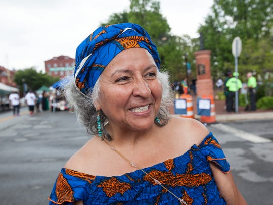 Genny Pitts, co-founder of the People's Festival, in