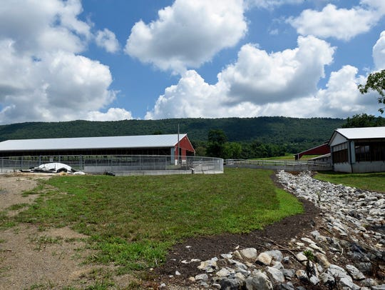 The Mark and Beth Steck farm family has been honored