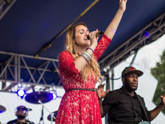 Singer/songwriter Britt Nicole will perform as part of Fish Fest on Aug. 20 at Salem's Riverfront Park.
