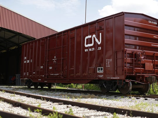 The National Railroad Museum in Ashwaubenon recently dedicated the addition of a donated and newly restored Canadian National Railway boxcar to its collection of more than 70 rolling stock.