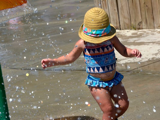 PHOTO: Splash Pad to beat the heat
