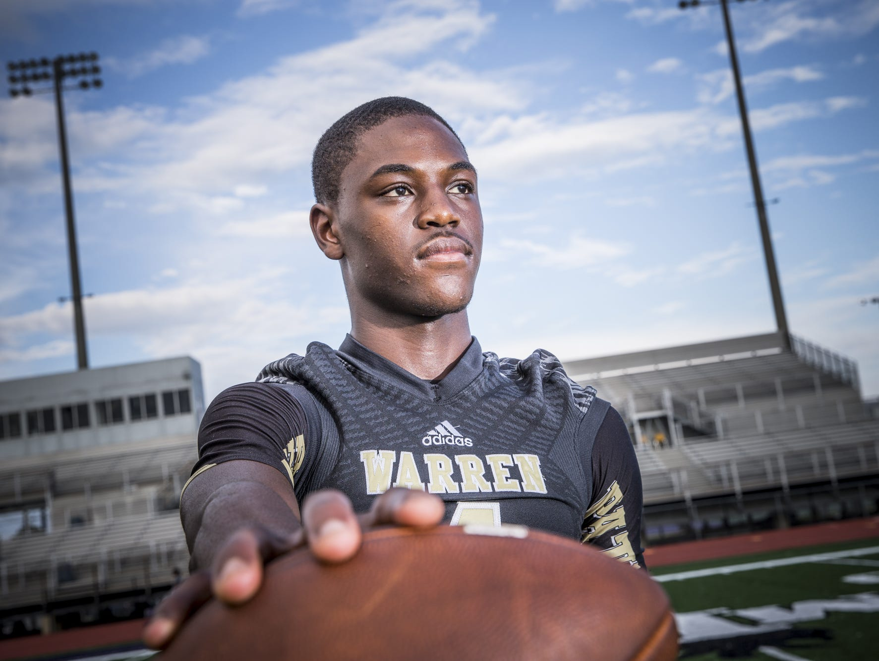 Warren Central WR David Bell caught 35 passes for 649 yards a season ago.