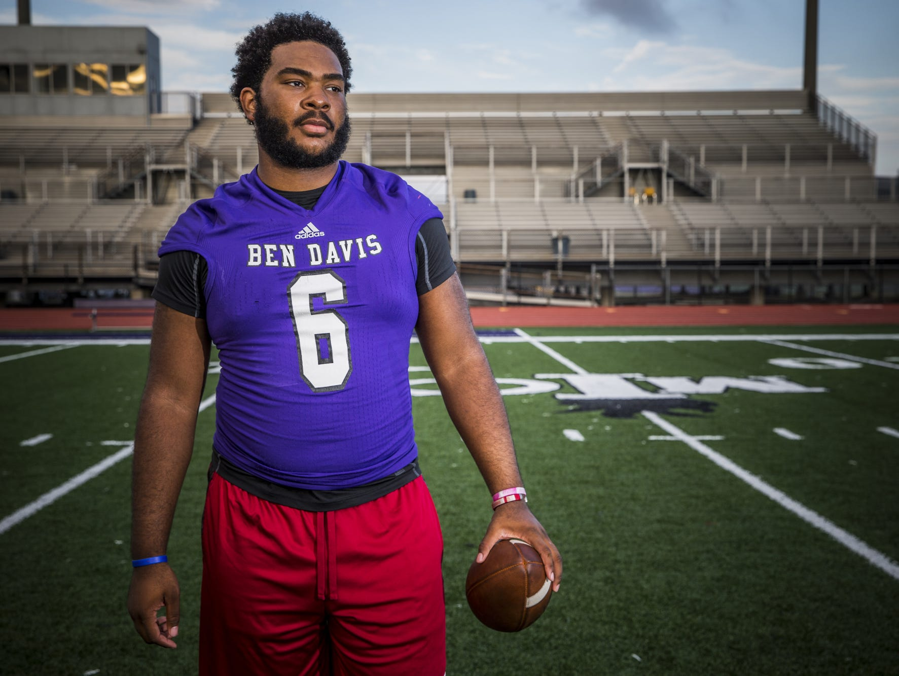 Ben Davis' LeShaun Minor is a difference maker on the interior.