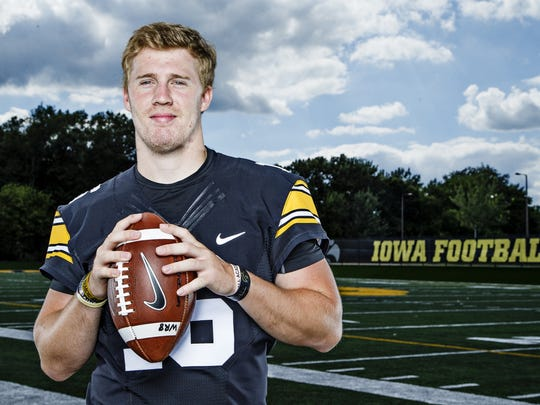 "Iowa senior C.J. Beathard is on the ""watch list"" for"