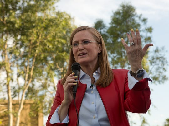 Christine Jones is running for the 5th District congressional