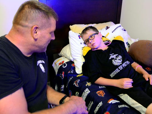 Local veterans advocate faces new battle with son