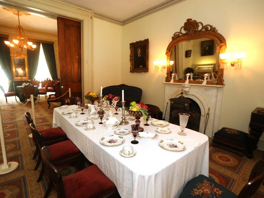 Oaklands Mansion, 900 N. Maney Ave. in Murfreesboro, is hosting its annual free day in May from 10 a.m. to 4 p.m. Saturday. You can tour the mansion free of charge.