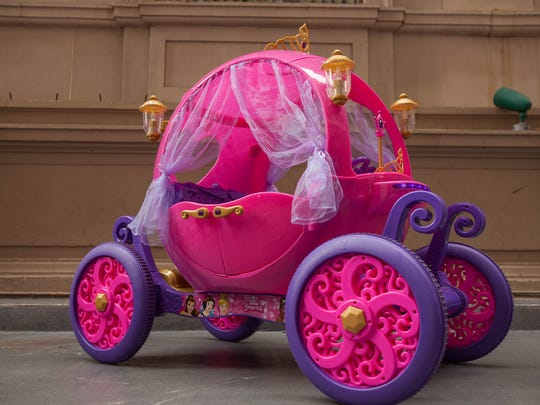 The Disney Princess Carriage is expected to be among