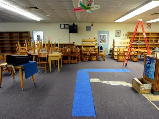 Dover Area High School is remodeling their under-used