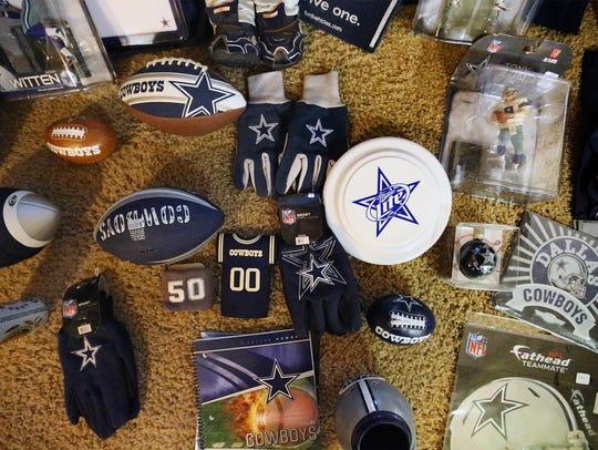 Part of Jaime Garcia's Dallas Cowboys collection.
