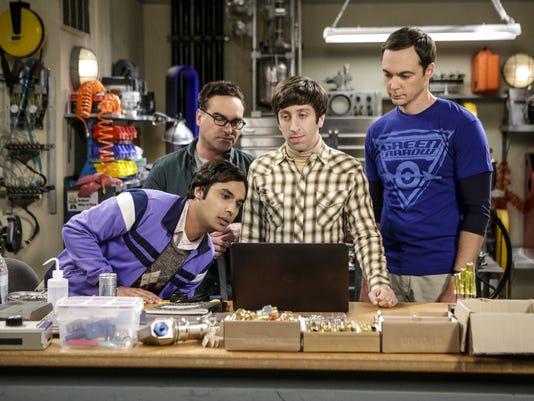 The Big Bang Theory men