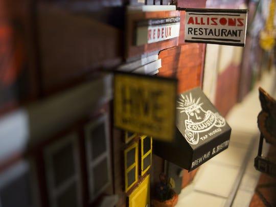 David Lynch's cardboard model of York includes newer spots like the Royal Square neighborhood.