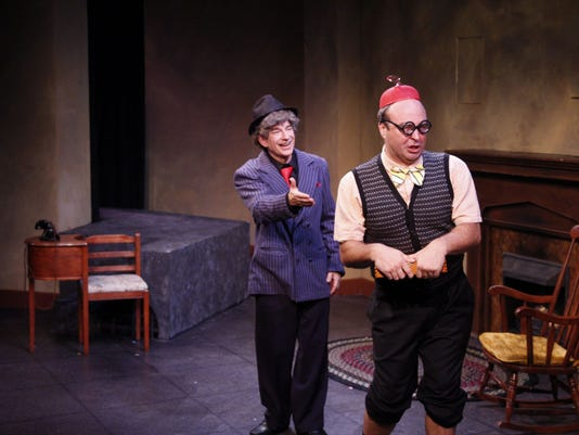 Theater Review Comedians Do All They Can With Dracula Vs The Nazis