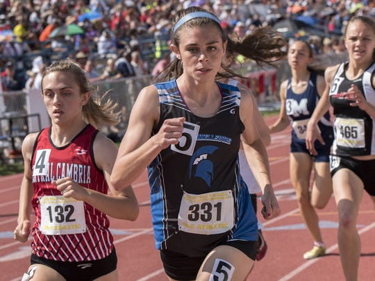 McConnellsburg's McKenzie Gelvin announced her commitment to Temple University for track & field in October.