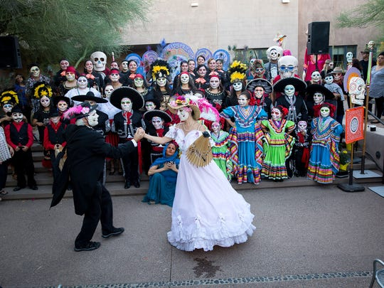 Day of the Dead celebration at Desert Botanical Gardens.