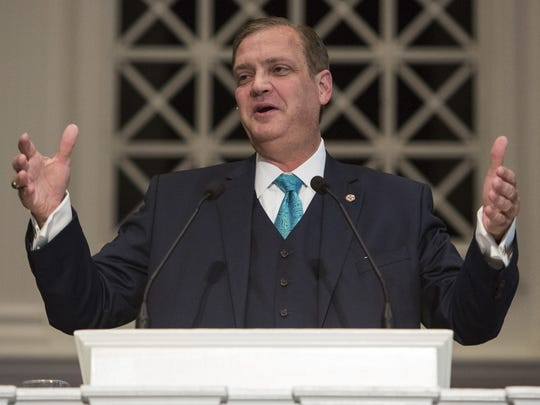 Southern Baptist Theological Seminary president, the Rev. Albert Mohler Jr.,