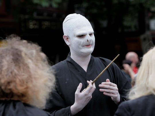 Wizarding Weekend at Press Bay Alley in Ithaca on Saturday,