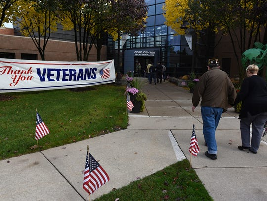 The City of Novi saluted its veterans on Nov. 3 at