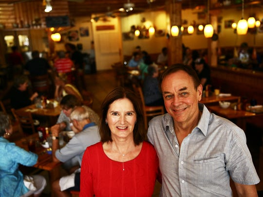 Noreen and Ross Edlund, pictured in the original location of Skillets, launched their Naples restaurants in 1995. Their eighth location is coming to south Fort Myers in January.