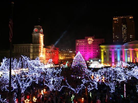 Light Up Louisville will kick off Friday night in downtown