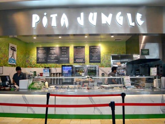 The Pita Jungle at the Scottsdale Fashion Square Palm