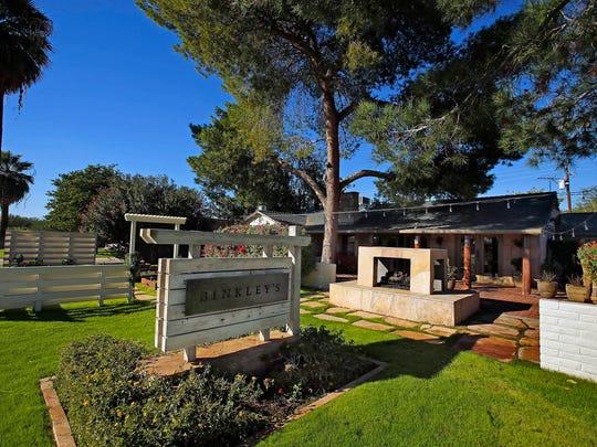 Chef  Kevin Binkley's new restaurant Binkley's, Wednesday,