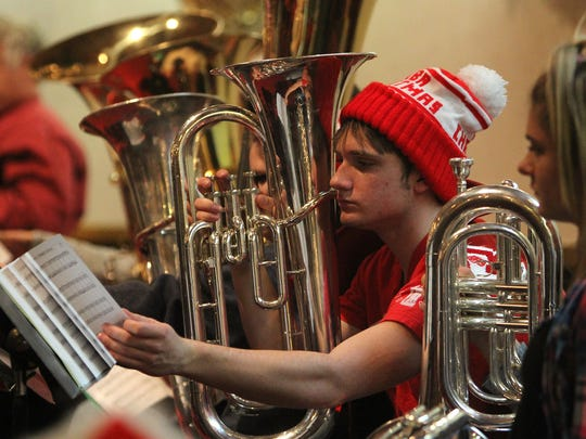 TUBA CHRISTMAS: 3 p.m. Dec. 14. Outside Akin Auditorium, 3410 Taft. 397-4267.