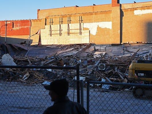 Copper Lounge Building Demolition