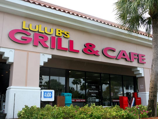 The original LuLu B's Grill is located at Marketplace at Pelican Bay on U.S. 41 in North Naples.