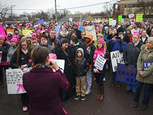 Women's March Sioux Falls