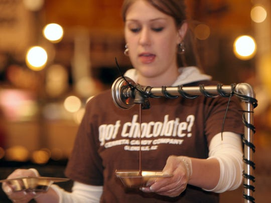 The Glendale Chocolate Affaire offers different types