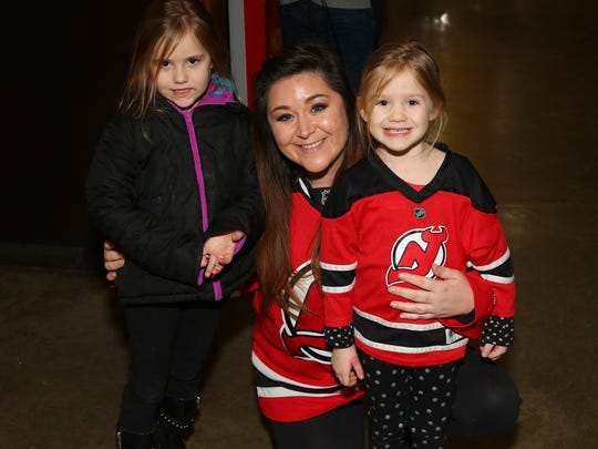 Some of the youngest Devils fans were on hand for Saturday's game between Albany and the Binghamton Senators.