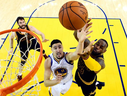 The Cleveland Cavaliers defeated the Golden State Warriors