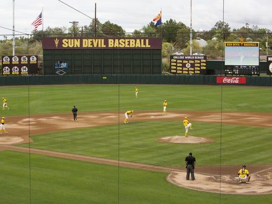 ASU baseball vs. Washington