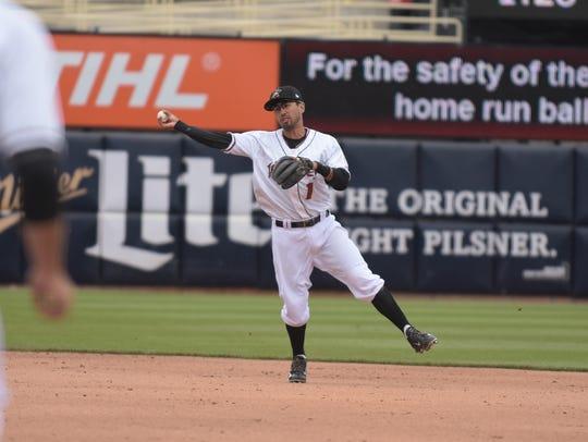 Joey Wong has spent eight seasons as an infielder in