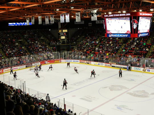 The B-Sens have played at the Arena since the 2002-03