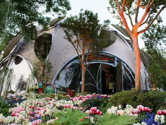 The Ecodome, the 'business card' of Dutch sustainability,