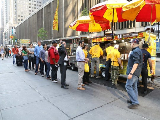 The Halal Guys grew out of a hot dog street cart in