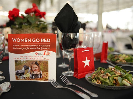 The 2013 Go Red for Women banquet was held at the Dutch Garden Center in Jackson. This year's banquet will be held April 4 at the Carl Perkins Civic Center.