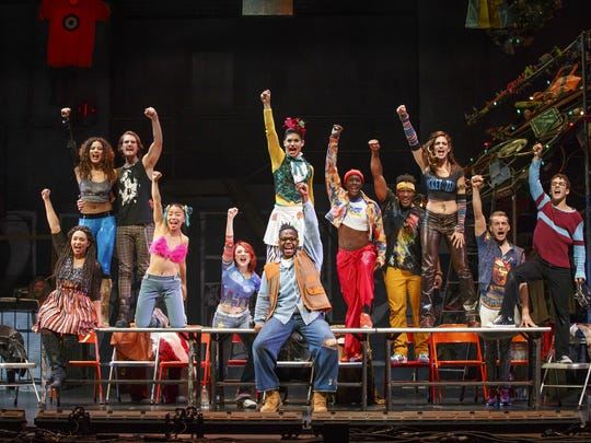 """Rent"" will return to the Fox Cities PAC as part of"