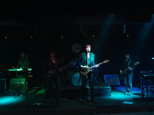 A band performs at The Vault at Victor Records.