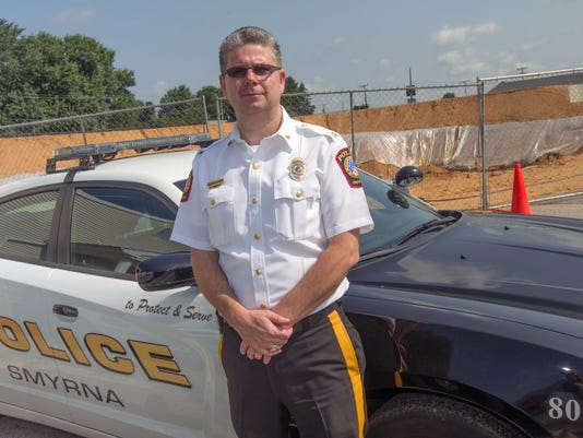 Smyrna Police Chief Norman Wood