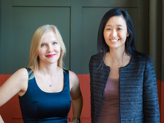 Pymetrics co-founders Frida Polli and Julie Yoo.