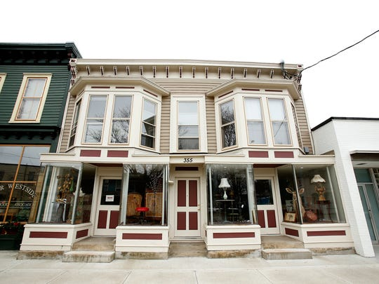 Near Westside Neighborhood Association received a Project Award for restoring of structure at 355 Davis Street in Elmira, which was built in the early 20th century.