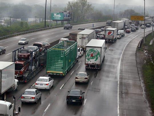 Traffic on I-75