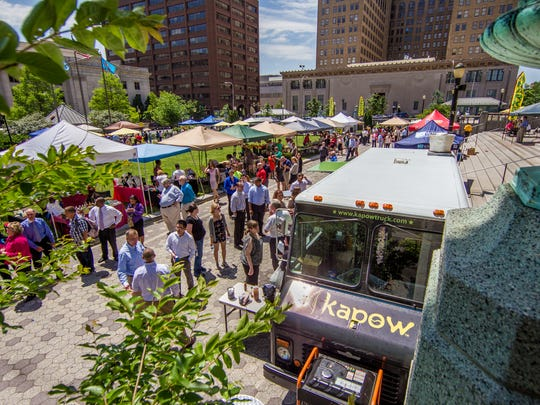 The Downtown Farmer's Market at Rodney Square will return Wednesday for a soft opening.