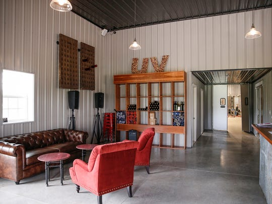 New winery and vineyard in Westfield, Urban Vines,