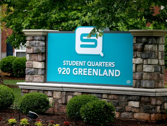 A shooting occurred at Student Quarters Apartments
